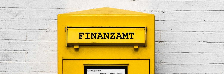 Briefkasten des Finanzamtes