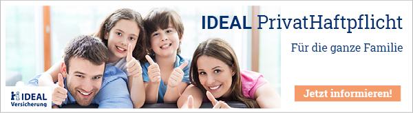 IDEAL PrivatHaftpflicht - Für die ganze Familie