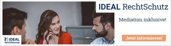 IDEAL RechtSchutz - Die individuelle Absicherung bei allen rechtlichen Fragen.