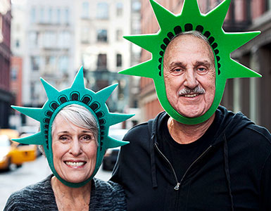 IDEAL UniversalLife: Mann und Frau in New York City