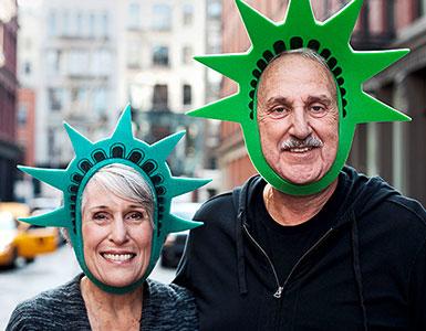 IDEAL UniversalLife: Mann und Frau in New York City
