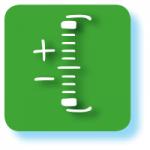 Grafisches Symbol für ETFs mit grünem Hintergrund