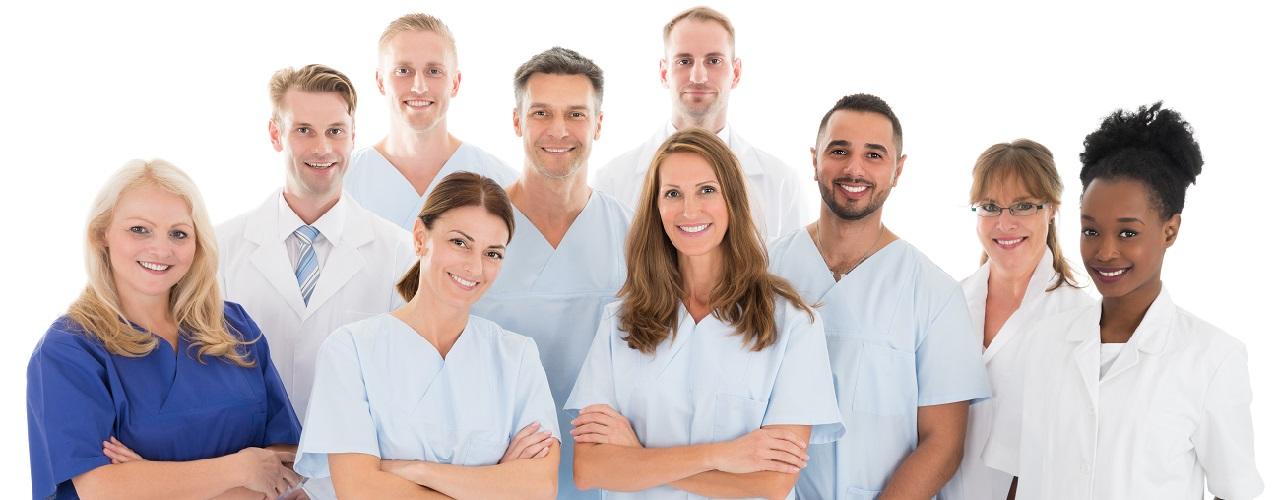 Gruppe von Pflegepersonal