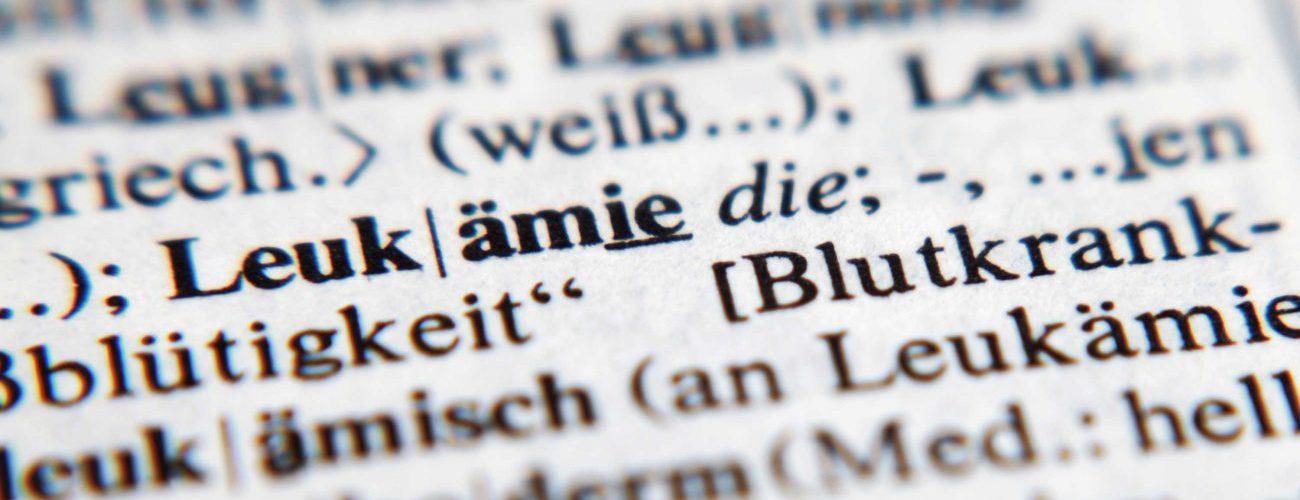 Leukämie - eine weitverbreitete Blutkrankheit