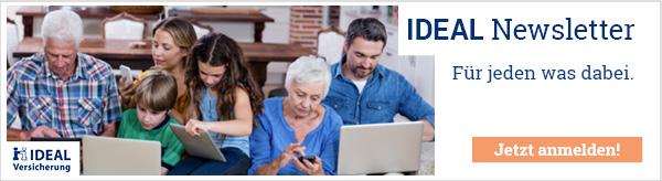 IDEAL Newsletter - Bleiben Sie informiert.