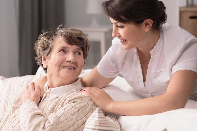 Pflege von Krebserkrankten