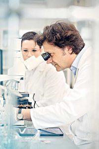 Laboruntersuchung zur PSA-Bestimmung